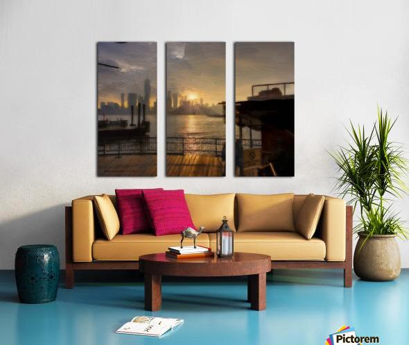 NYSunset Split Canvas print