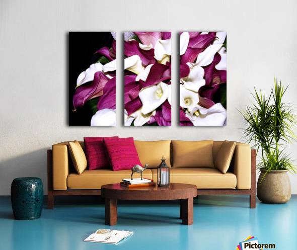 ORCHIDS Split Canvas print