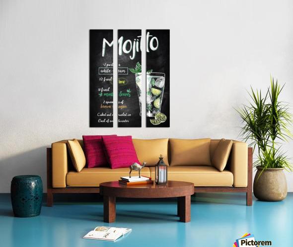 Mojito Split Canvas print