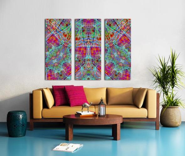 A.P.Polo - Bandsalat Split Canvas print