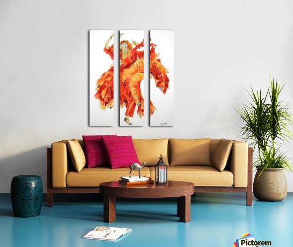 Zambra Mora Split Canvas print