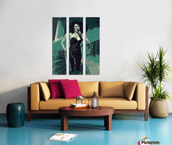 Diana_Ross_05 Split Canvas print