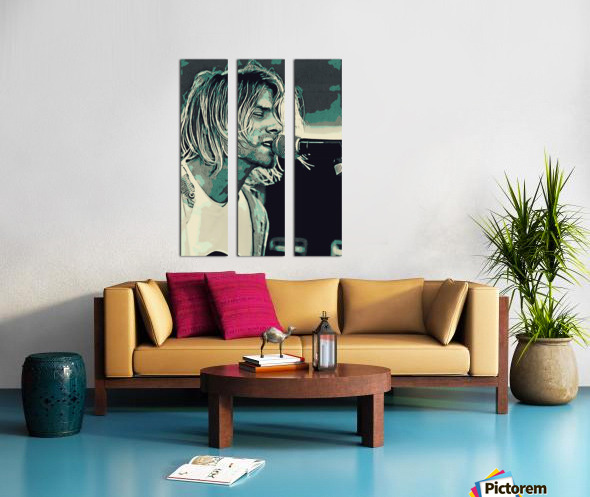 Kurt_Cobain_31 Split Canvas print