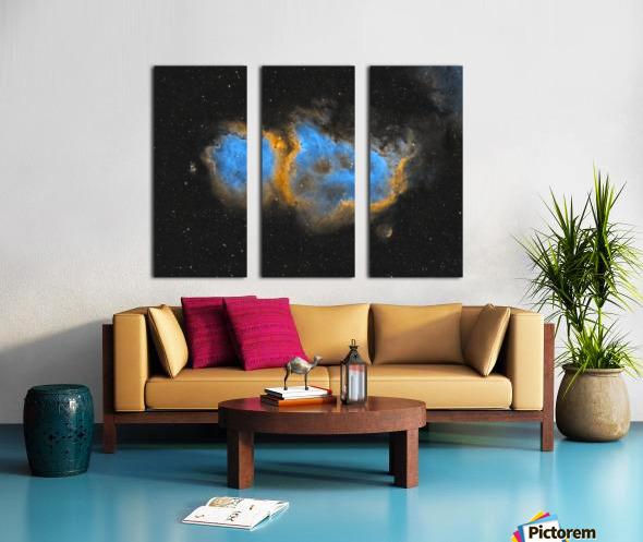 Soul Nebula Split Canvas print