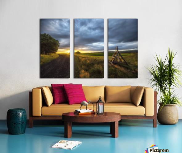 Markar Fiord Iceland Split Canvas print