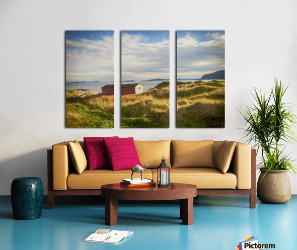 New Bonaventure Sunset 2 Split Canvas print
