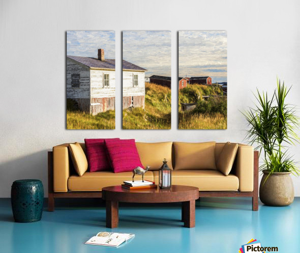 New Bonaventure Sunset Split Canvas print