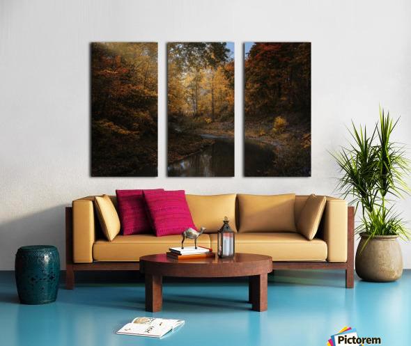 Lumiere automnale Split Canvas print