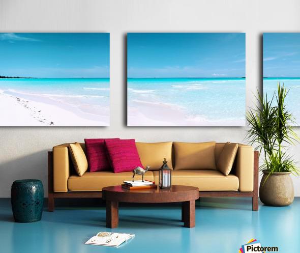Paradise Found Split Canvas print