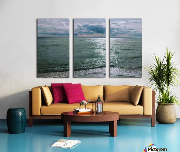 Serenity at Santa Rosa Beach Split Canvas print
