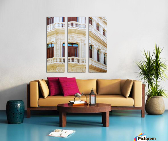 Havana IV Split Canvas print