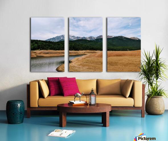 Golden Morning Split Canvas print
