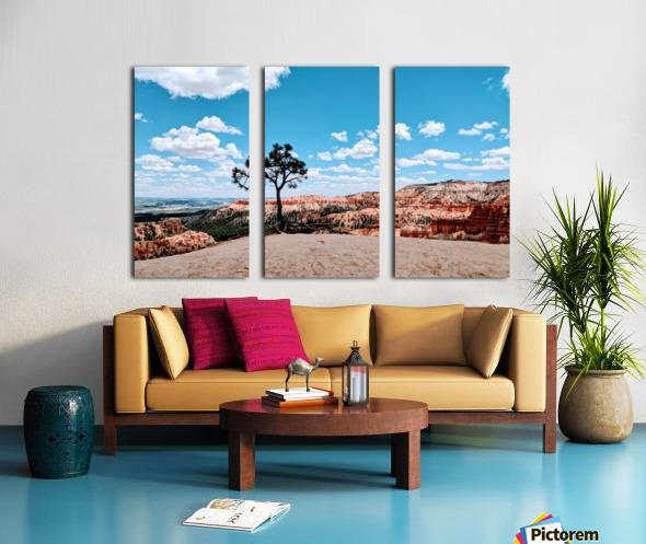 Bryce Canyon V Split Canvas print