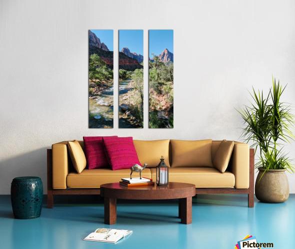 Zion in Morning Light Split Canvas print