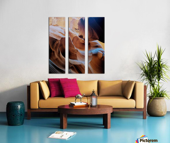 Sunkissed II Split Canvas print