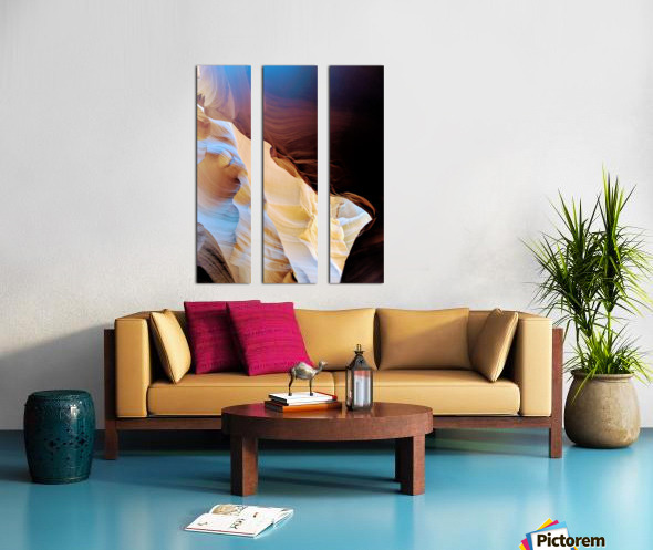 Sunkissed I Split Canvas print