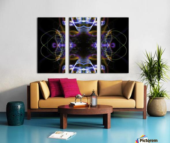 MOVING WINDOW Split Canvas print