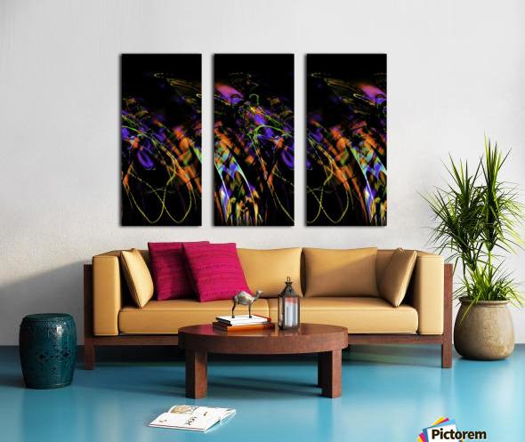 FLY FLUX Split Canvas print