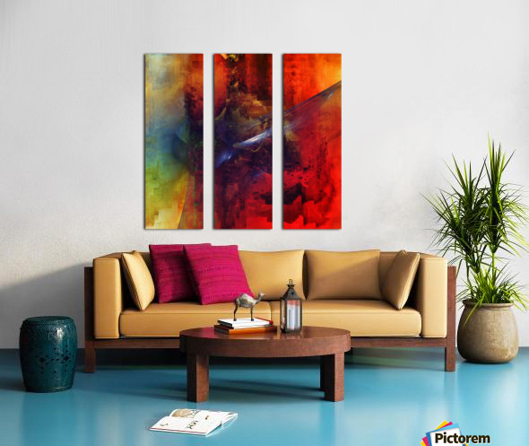 Cazimir dream  Split Canvas print