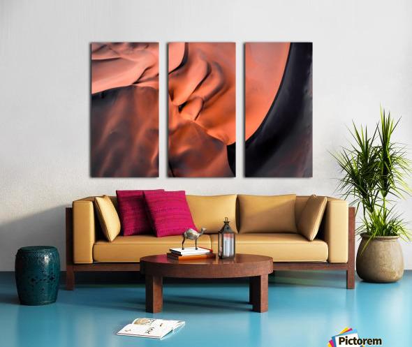 Sand hill Split Canvas print