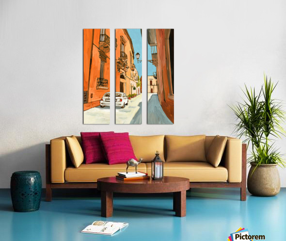 Lecce Split Canvas print