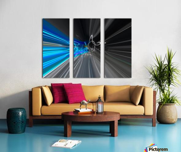 WARP SPEED Split Canvas print
