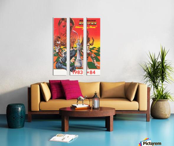 1983 Milwaukee Bucks  Split Canvas print