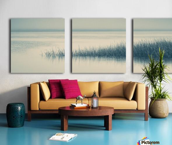 High Tide on the Nonesuch Split Canvas print