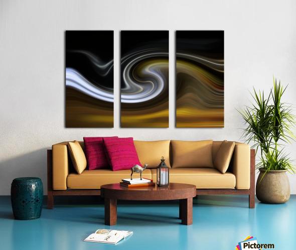 LAVAWAVE Split Canvas print