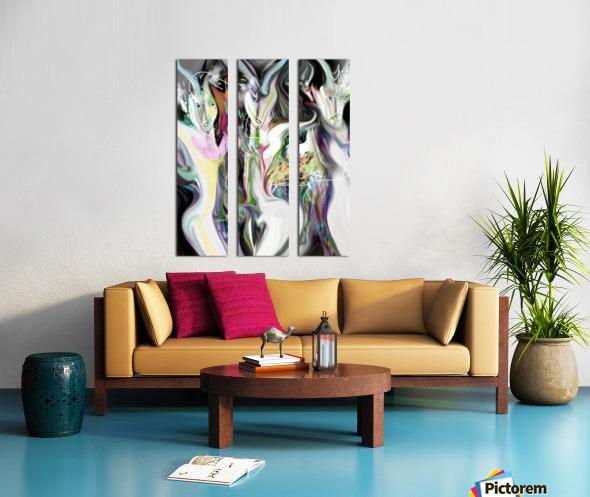 ME NAGE Split Canvas print
