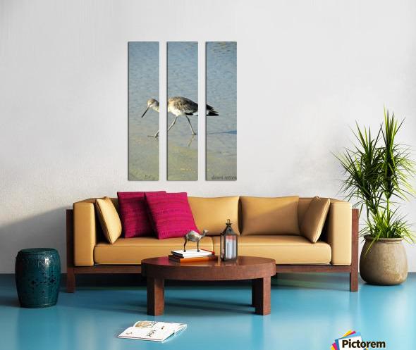 Ba Bum Bird Split Canvas print