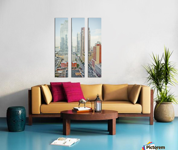 Architectural image of Hells kitchen Manhatten New york USA 2011 Split Canvas print