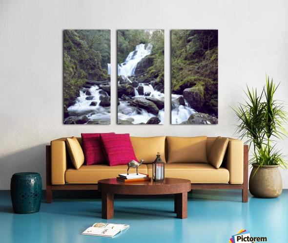 Torc waterfall in Killarney National Park Split Canvas print