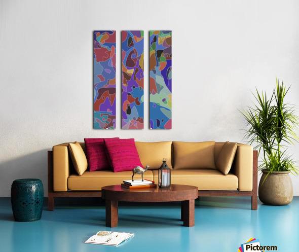 passive aggressions Split Canvas print