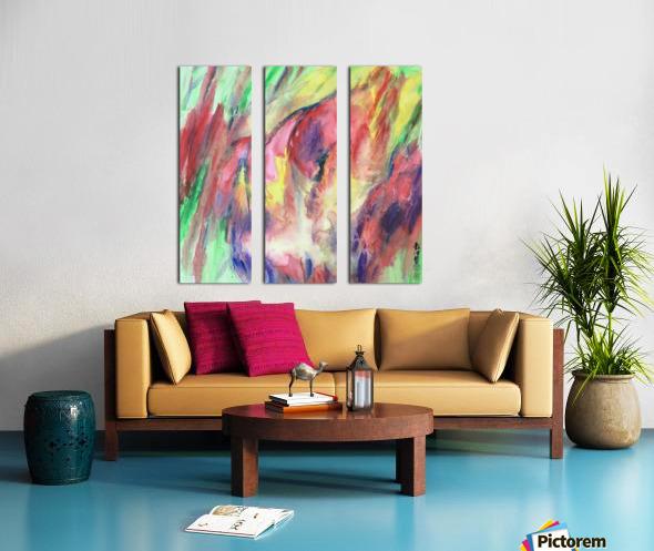 SH40 Imagination In The Heart  Split Canvas print