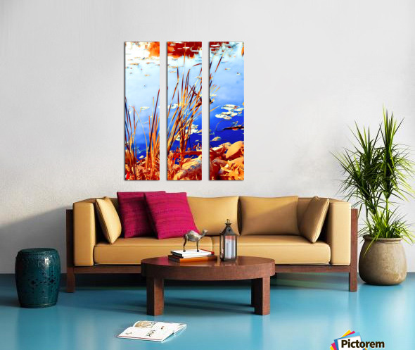 Reed Grasses  Split Canvas print