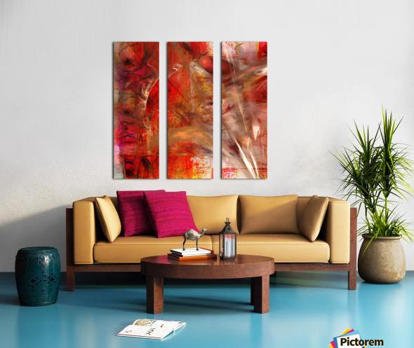 Vertiz Split Canvas print