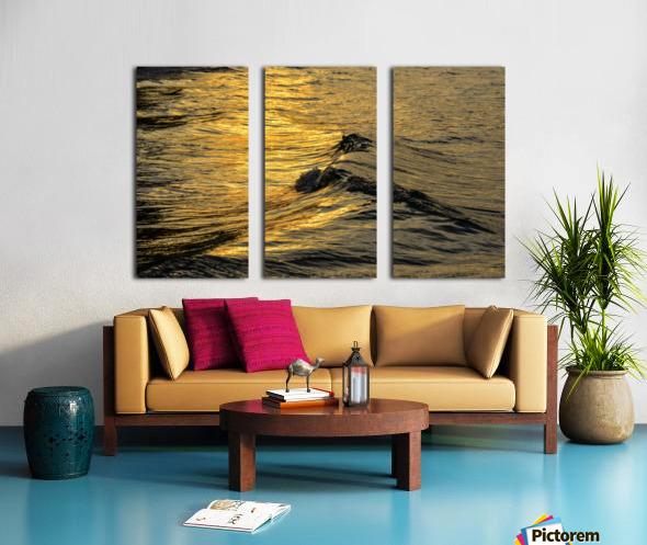 Lake Erie waves 9 Split Canvas print