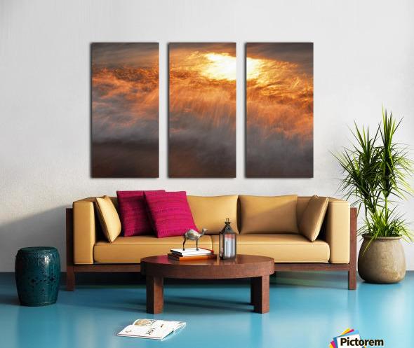 Lake Erie waves 8 Split Canvas print
