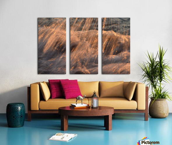 Lake Erie waves 7 Split Canvas print