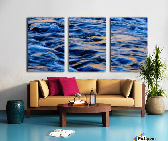 Flowing reflections 5 Split Canvas print