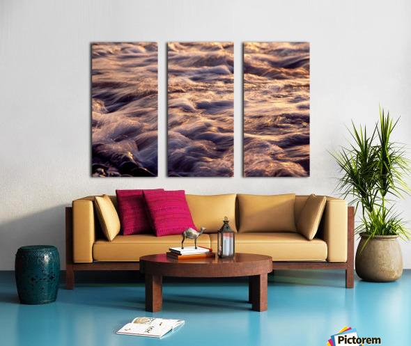 Lake Erie waves 6 Split Canvas print
