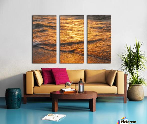 Lake Erie waves 5 Split Canvas print