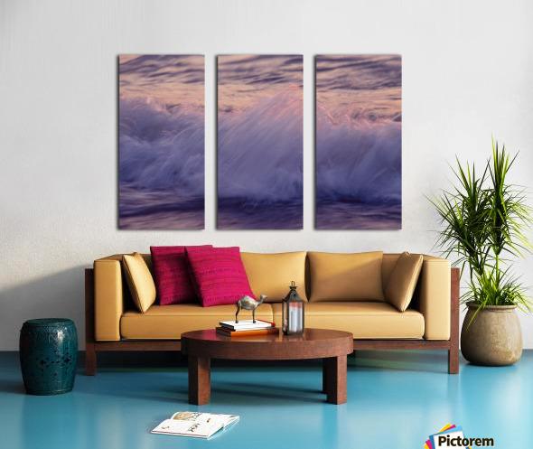 Lake Erie waves 4 Split Canvas print