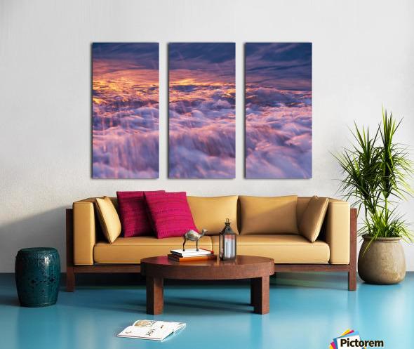 Lake Erie waves 3 Split Canvas print