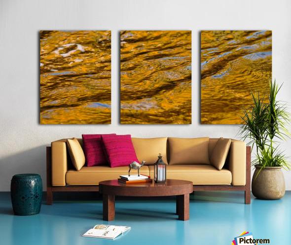 Flowing reflections 4 Split Canvas print