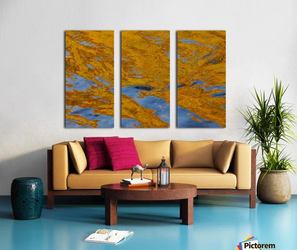 Flowing reflections 2 Split Canvas print