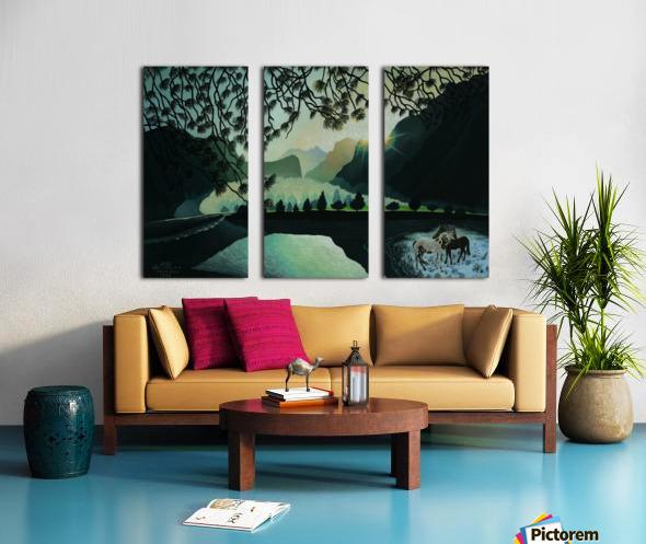 1992 033 Split Canvas print