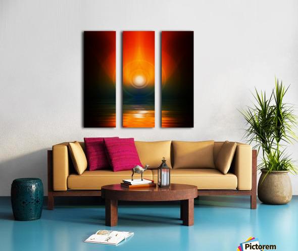 Life energy Split Canvas print