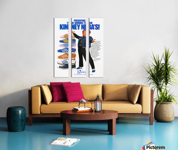 1979 Kinney NBA Shoes Ad Split Canvas print